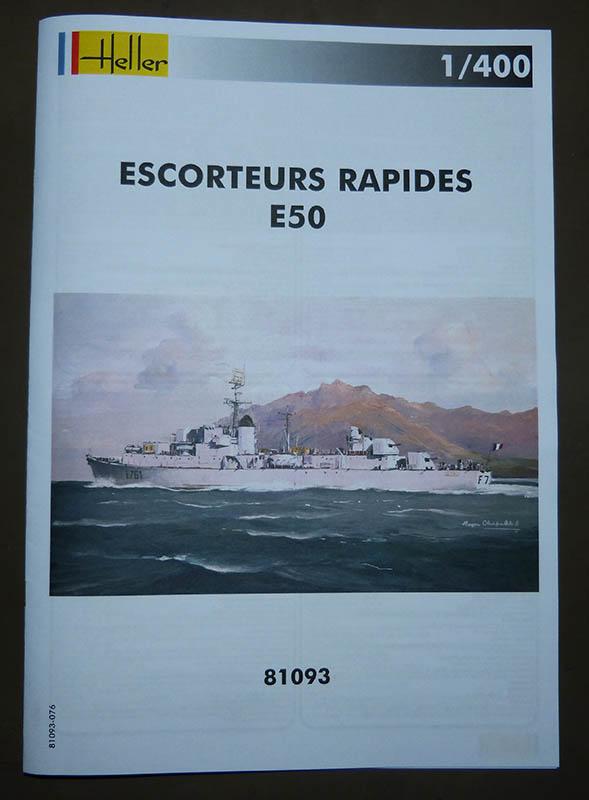 Escorteur rapide Type E 50 LE BORDELAIS Réf 81093. Er_0510
