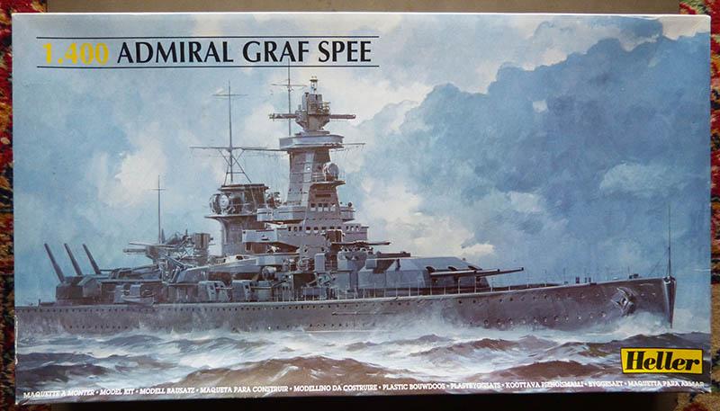 "Fil rouge 2020 : (Heller) Croiseur lourd ""Graf Spee"" - 1/400. Grafsp11"