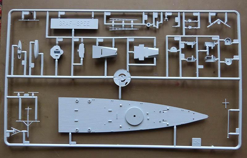 "Fil rouge 2020 : (Heller) Croiseur lourd ""Graf Spee"" - 1/400. Grafsp14"