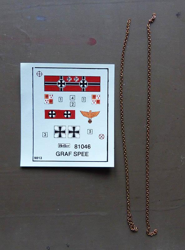 "Fil rouge 2020 : (Heller) Croiseur lourd ""Graf Spee"" - 1/400. Grafsp17"