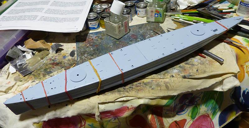 "Fil rouge 2020 : (Heller) Croiseur lourd ""Graf Spee"" - 1/400. Grafsp26"