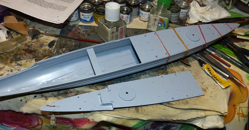 "Fil rouge 2020 : (Heller) Croiseur lourd ""Graf Spee"" - 1/400. Grafsp27"