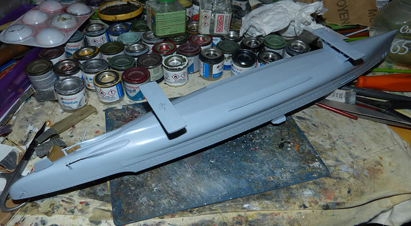 "Fil rouge 2020 : (Heller) Croiseur lourd ""Graf Spee"" - 1/400. Grafsp34"