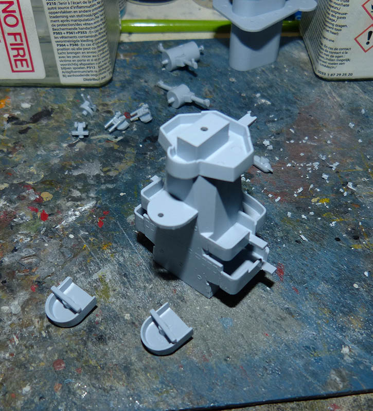 "Fil rouge 2020 : (Heller) Croiseur lourd ""Graf Spee"" - 1/400. Grafsp39"