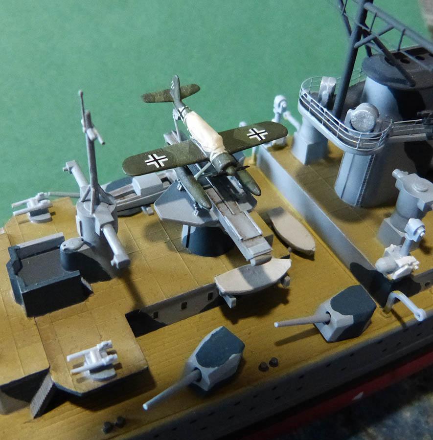 Croiseur lourd ADMIRAL GRAF SPEE Rio de La Plata 1939... Réf 81046 Grafsp69