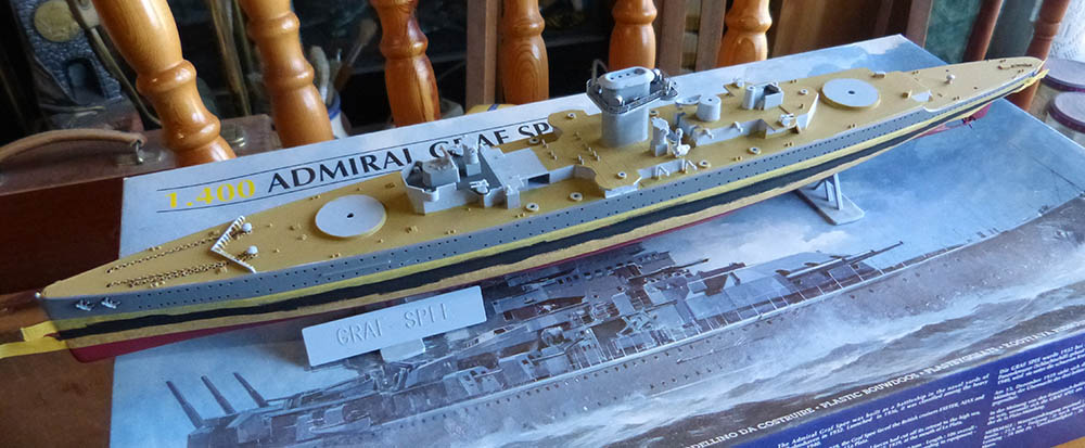 Croiseur lourd ADMIRAL GRAF SPEE Rio de La Plata 1939... Réf 81046 Grafsp72