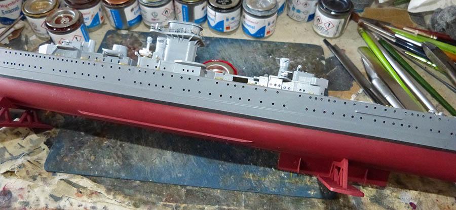 Croiseur lourd ADMIRAL GRAF SPEE Rio de La Plata 1939... Réf 81046 Grafsp74