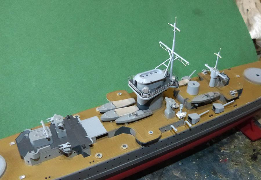 Croiseur lourd ADMIRAL GRAF SPEE Rio de La Plata 1939... Réf 81046 Grafsp75