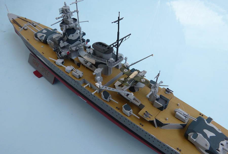 Croiseur lourd ADMIRAL GRAF SPEE Rio de La Plata 1939... Réf 81046 Grafsp82