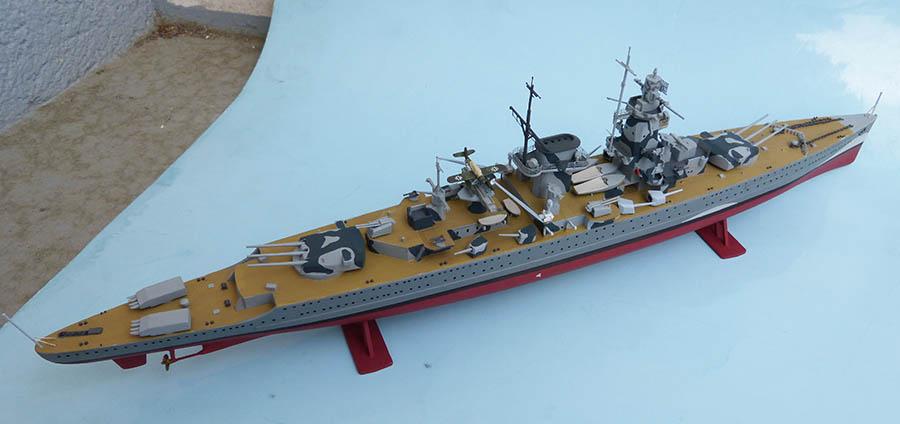Croiseur lourd ADMIRAL GRAF SPEE Rio de La Plata 1939... Réf 81046 Grafsp84