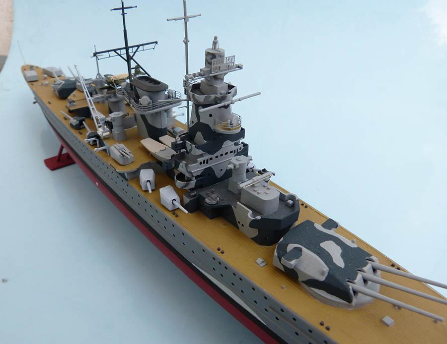 Croiseur lourd ADMIRAL GRAF SPEE Rio de La Plata 1939... Réf 81046 Grafsp87