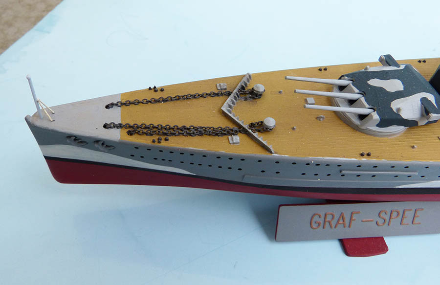 Croiseur lourd ADMIRAL GRAF SPEE Rio de La Plata 1939... Réf 81046 Grafsp91