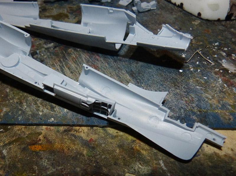 From the box - Harrier GR3 aux Malouines - Airfix - 1/72 *** Terminé en pg 2 Harrie17