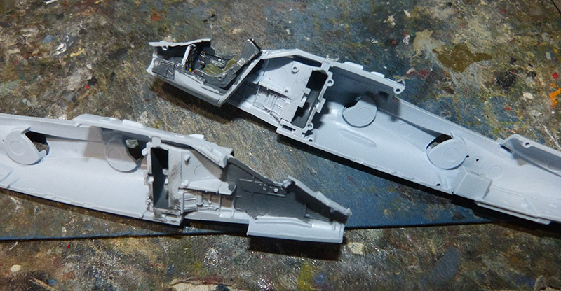 From the box - Harrier GR3 aux Malouines - Airfix - 1/72. Harrie18
