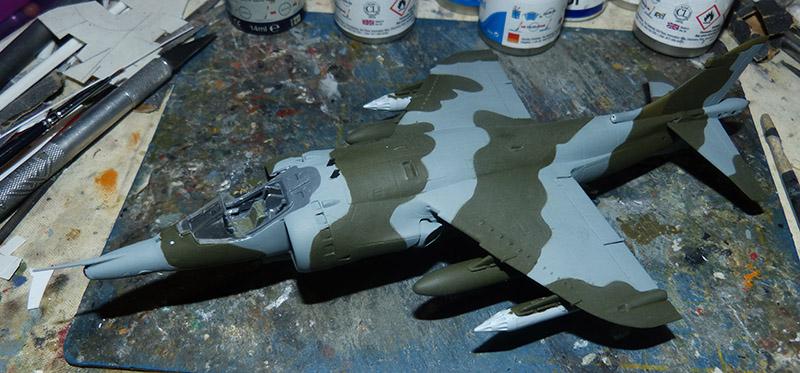 From the box - Harrier GR3 aux Malouines - Airfix - 1/72 *** Terminé en pg 2 Harrie42