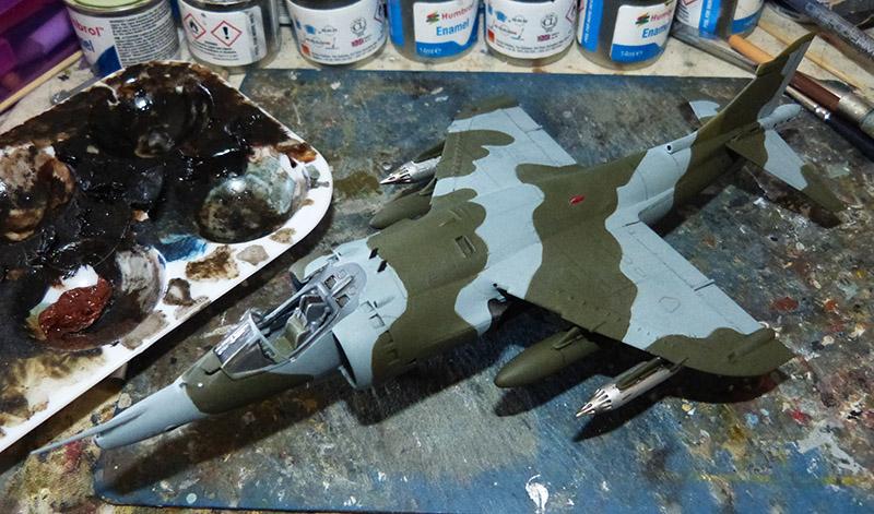 From the box - Harrier GR3 aux Malouines - Airfix - 1/72 *** Terminé en pg 2 Harrie47