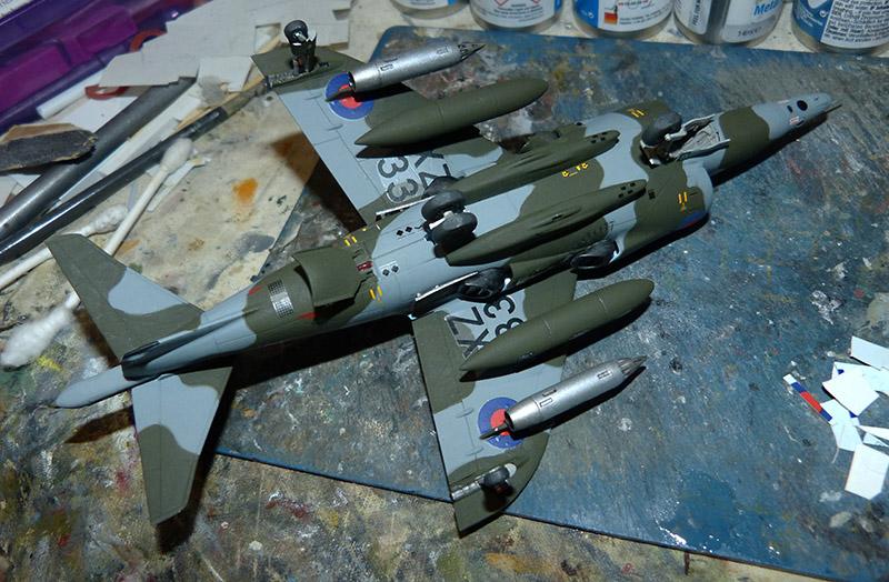 From the box - Harrier GR3 aux Malouines - Airfix - 1/72 *** Terminé en pg 2 Harrie50