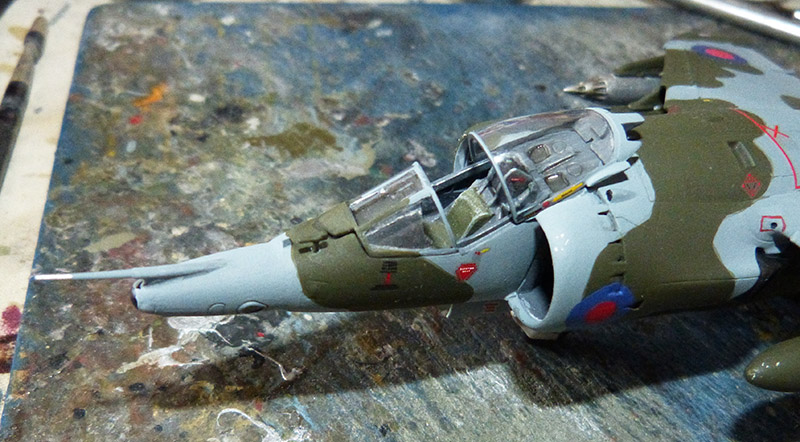 From the box - Harrier GR3 aux Malouines - Airfix - 1/72 *** Terminé en pg 2 - Page 2 Harrie56
