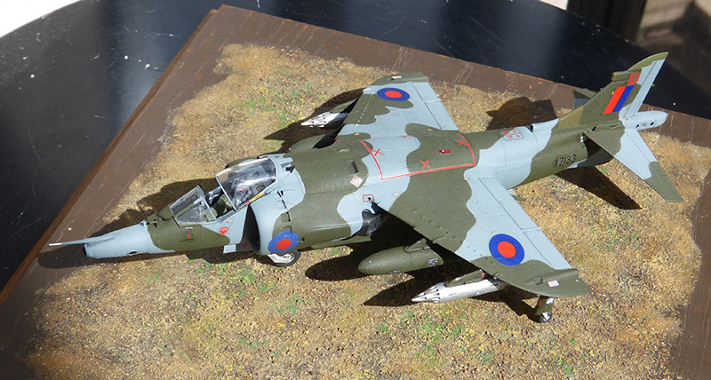 From the box - Harrier GR3 aux Malouines - Airfix - 1/72 *** Terminé en pg 2 - Page 2 Harrie58