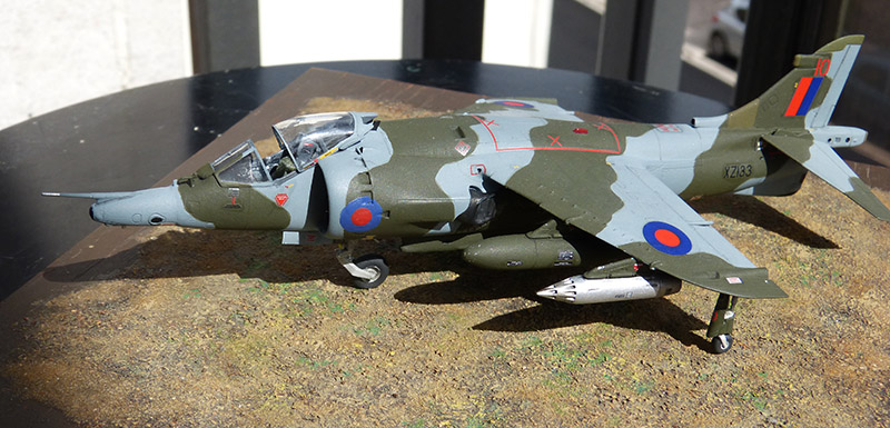 From the box - Harrier GR3 aux Malouines - Airfix - 1/72 *** Terminé en pg 2 - Page 2 Harrie59