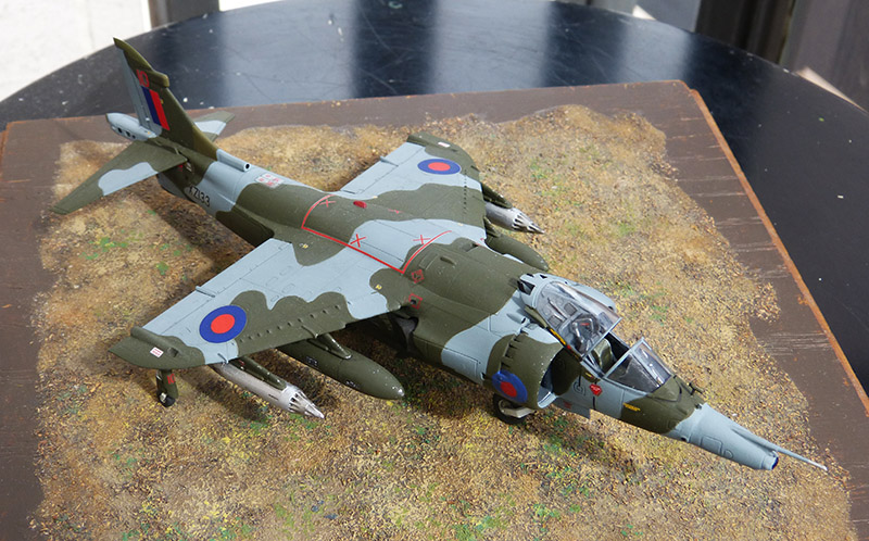 From the box - Harrier GR3 aux Malouines - Airfix - 1/72 *** Terminé en pg 2 - Page 2 Harrie60