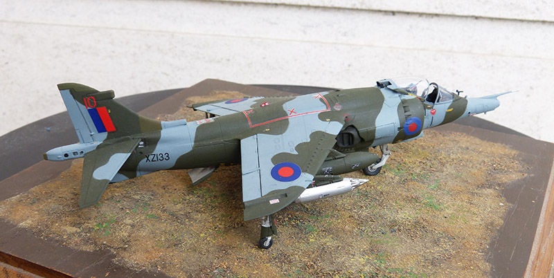 From the box - Harrier GR3 aux Malouines - Airfix - 1/72 *** Terminé en pg 2 - Page 2 Harrie62
