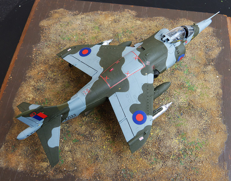 From the box - Harrier GR3 aux Malouines - Airfix - 1/72 *** Terminé en pg 2 - Page 2 Harrie67
