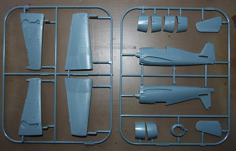 From the box - Hellcat NF Mk II - Eduard - 1/72. Hellca13