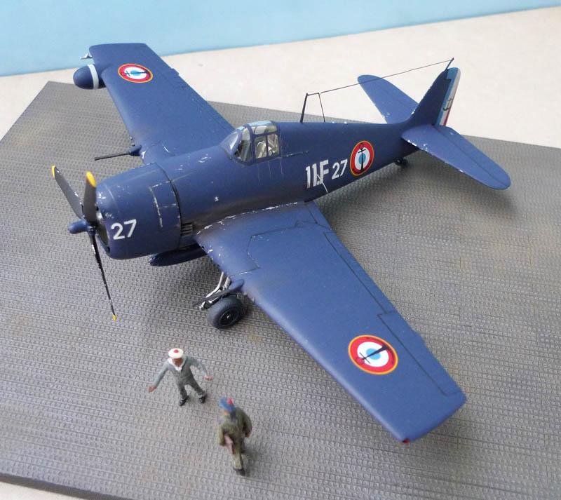 From the box - Hellcat NF Mk II - Eduard - 1/72. Hellca22