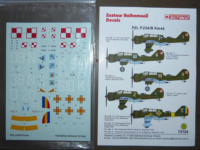 PZL 23 B  KARAS 1/72ème Réf 80249 Karas_12