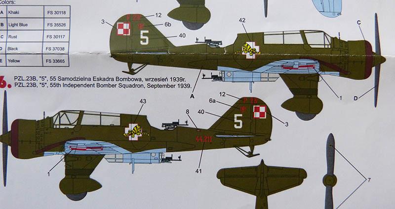 PZL 23 B  KARAS 1/72ème Réf 80249 Karas_13