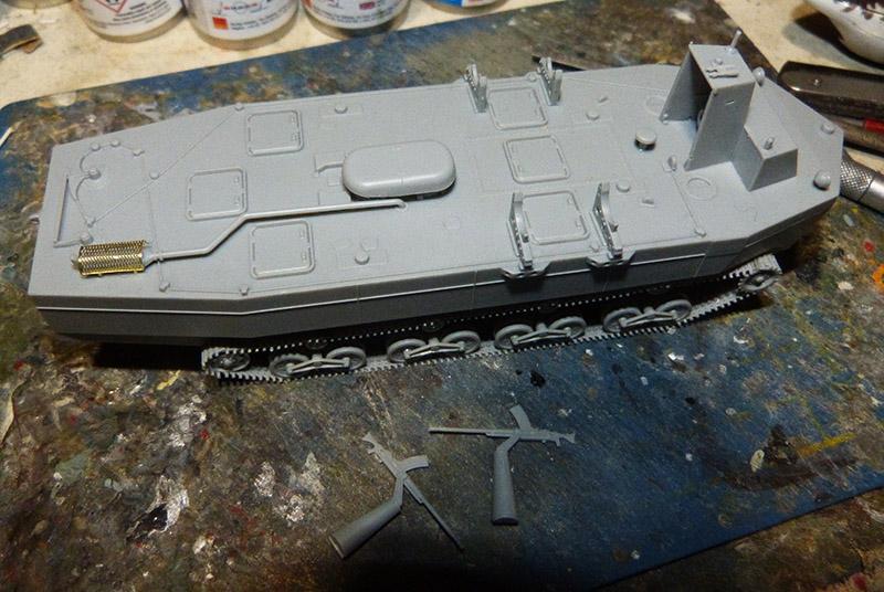 From the box - Char amphibie torpilleur japonais type 4 Ka-Tsu - Riich models - 1/72 *** Terminé en pg 2 Katsu_11