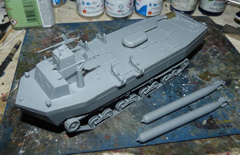 From the box - Char amphibie torpilleur japonais type 4 Ka-Tsu - Riich models - 1/72 *** Terminé en pg 2 Katsu_13