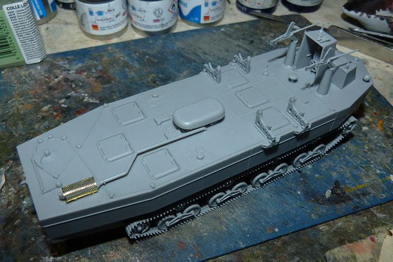 From the box - Char amphibie torpilleur japonais type 4 Ka-Tsu - Riich models - 1/72 *** Terminé en pg 2 Katsu_14