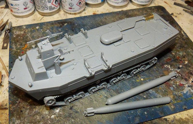 From the box - Char amphibie torpilleur japonais type 4 Ka-Tsu - Riich models - 1/72 *** Terminé en pg 2 Katsu_15
