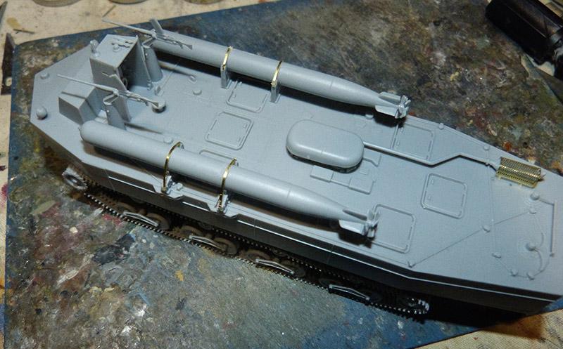 From the box - Char amphibie torpilleur japonais type 4 Ka-Tsu - Riich models - 1/72 *** Terminé en pg 2 Katsu_16