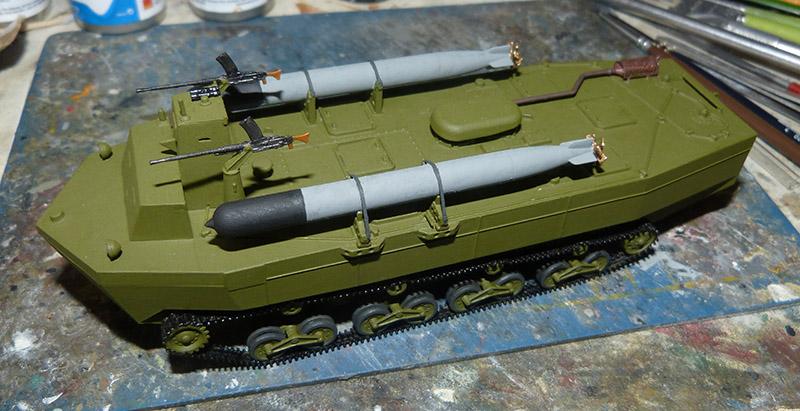 From the box - Char amphibie torpilleur japonais type 4 Ka-Tsu - Riich models - 1/72 *** Terminé en pg 2 Katsu_21