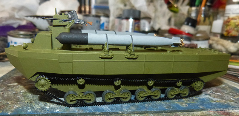 From the box - Char amphibie torpilleur japonais type 4 Ka-Tsu - Riich models - 1/72 *** Terminé en pg 2 Katsu_22