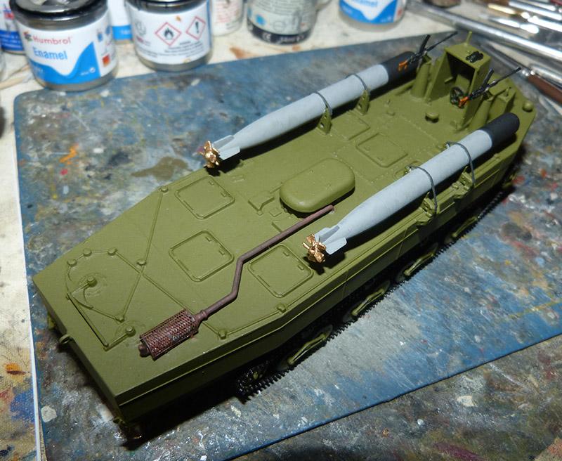 From the box - Char amphibie torpilleur japonais type 4 Ka-Tsu - Riich models - 1/72 *** Terminé en pg 2 Katsu_23