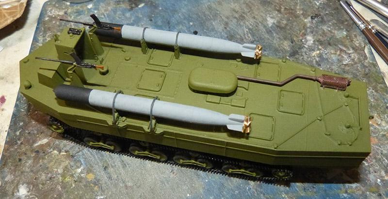 From the box - Char amphibie torpilleur japonais type 4 Ka-Tsu - Riich models - 1/72 *** Terminé en pg 2 Katsu_25