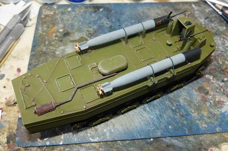 From the box - Char amphibie torpilleur japonais type 4 Ka-Tsu - Riich models - 1/72 *** Terminé en pg 2 Katsu_26