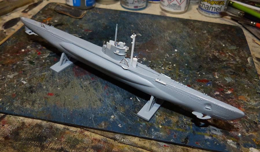 Sous marin LAUBIE Version 1960 Réf 81076 Laubie10