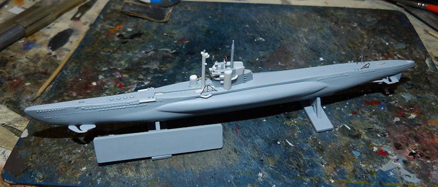 Sous marin LAUBIE Version 1960 Réf 81076 Laubie11