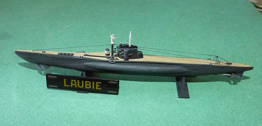 Sous marin LAUBIE Version 1960 Réf 81076 Laubie13