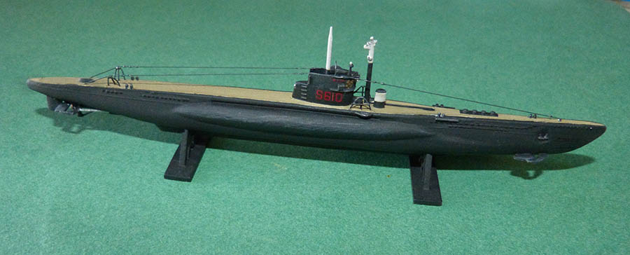 Sous marin LAUBIE Version 1960 Réf 81076 Laubie16