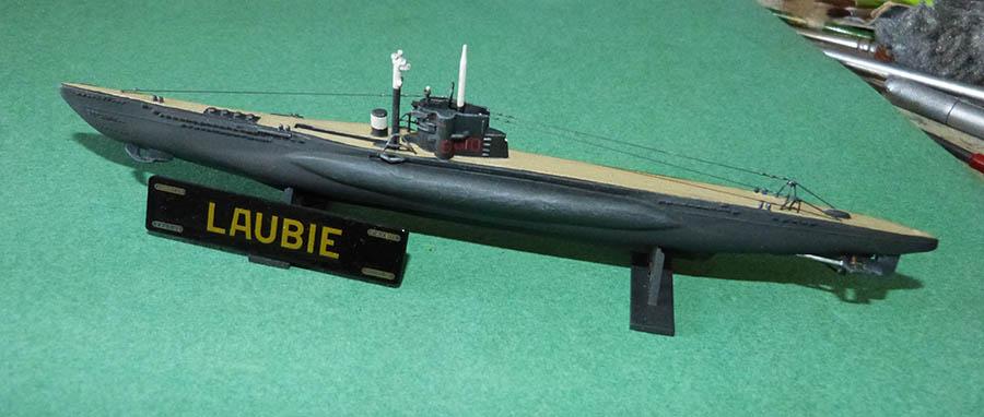 Sous marin LAUBIE Version 1960 Réf 81076 Laubie18