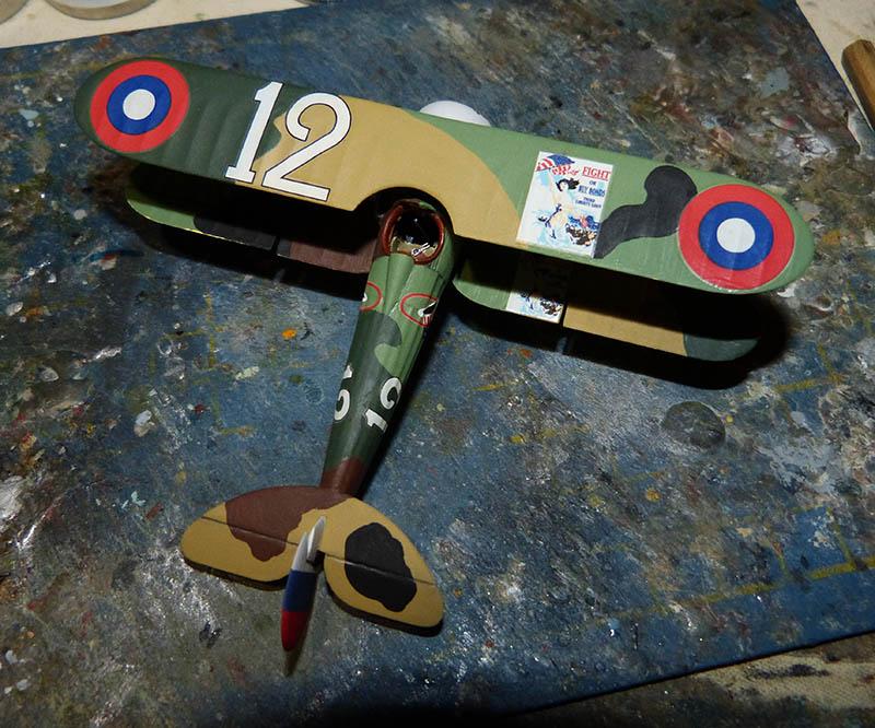 (Revell) Nieuport 28. N28_6110