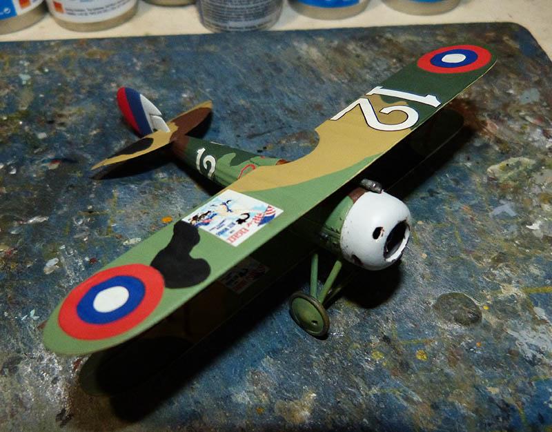 (Revell) Nieuport 28. N28_6210