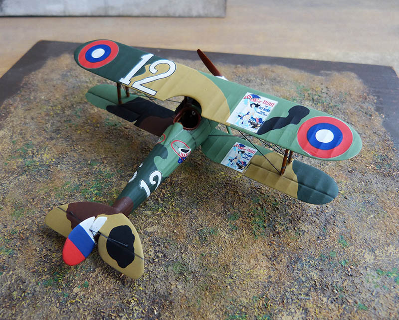 (Revell) Nieuport 28. N28_7610