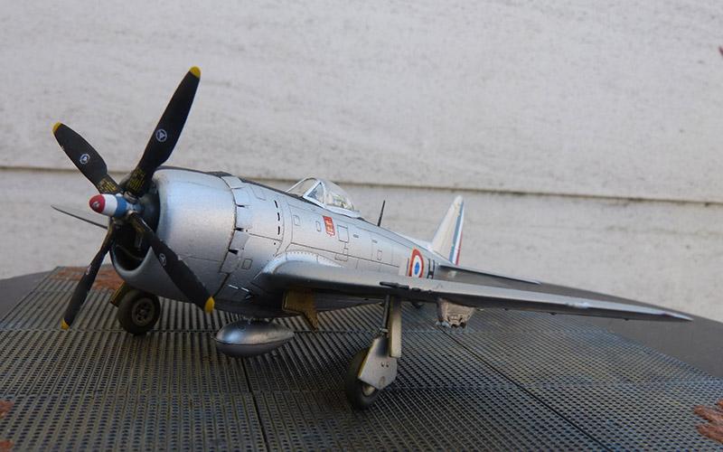 Montage chrono [REVELL] REPUBLIC P 47D-30 THUNDERBOLT du NeuNeu 1/72ème  Réf 04155 - Page 2 P47_7310